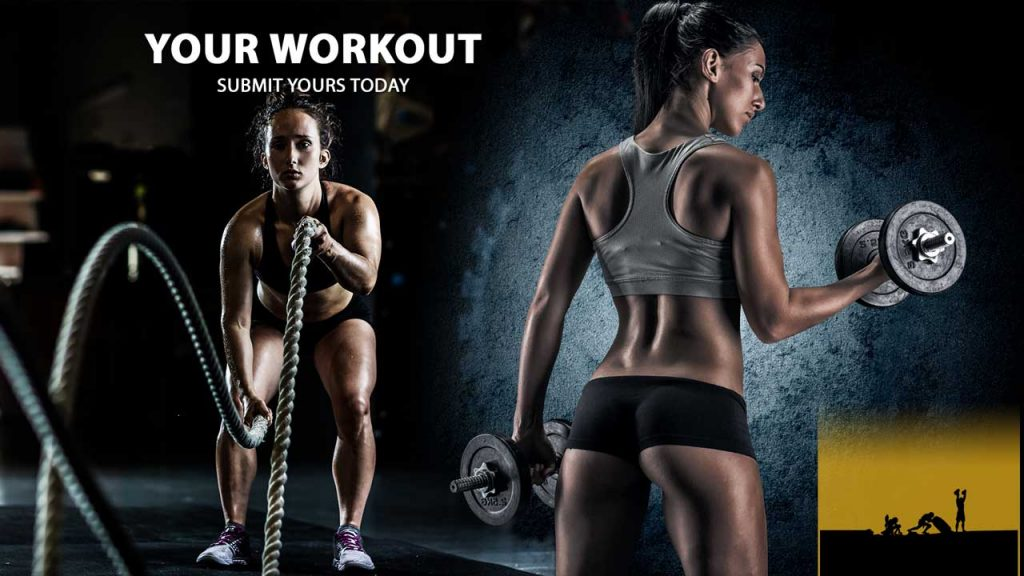 Submit your workout online