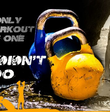 Kettlebell motivational quote