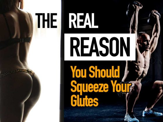 squeeze your glutes meaning