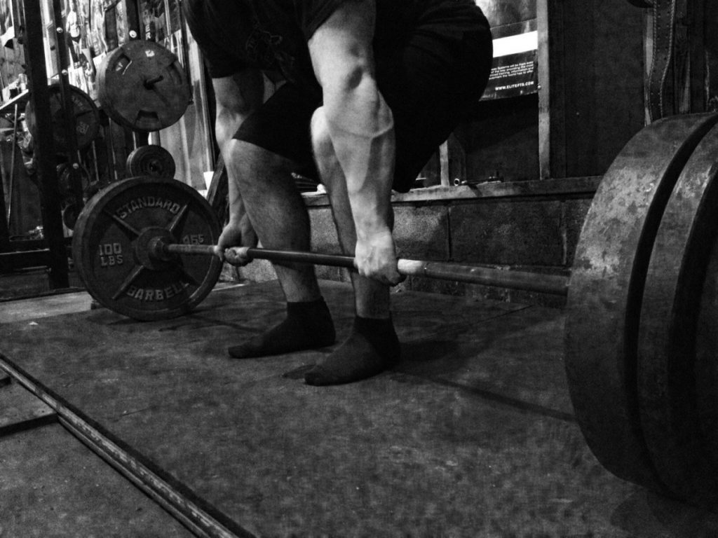 Deadlift powerlift
