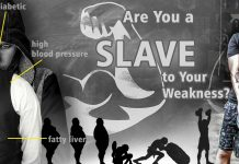 Slave to your weakness