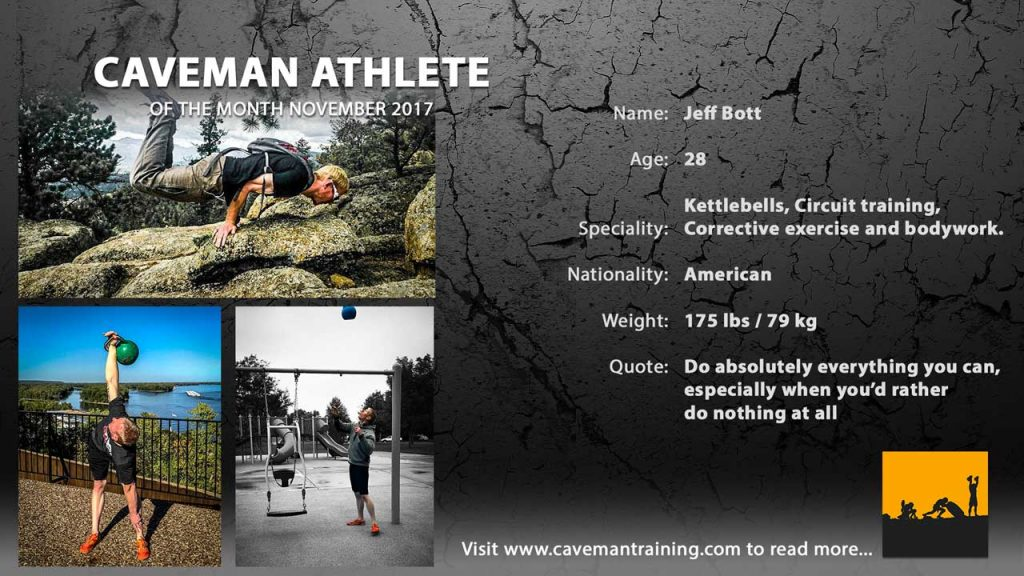 Caveman Athlete Jeff Bott