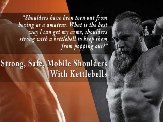 Kettlebells for shoulder rehab