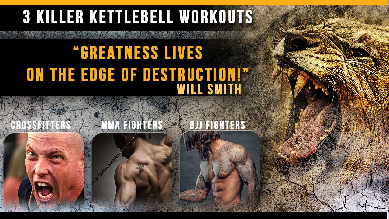 Three Killer Kettlebell Workouts
