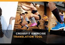 CrossFit Exercise Translation Tool