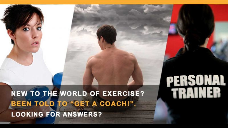 Get a coach or trainer
