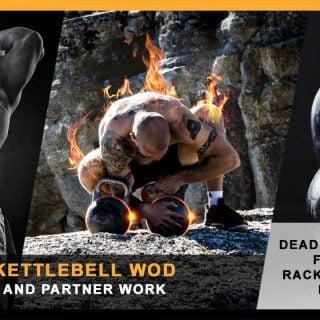 Heavy kettlebell WOD