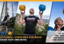 Kettlebell exercises for wods