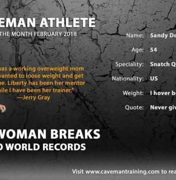 Sandy Doyle Kettlebell Sport