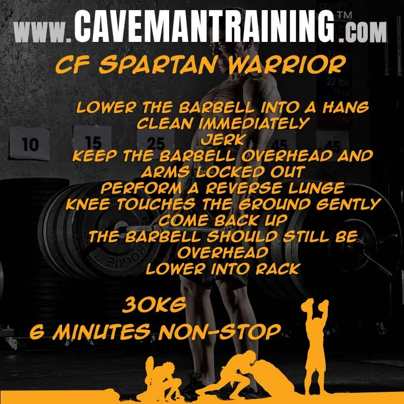wod spartan warrior