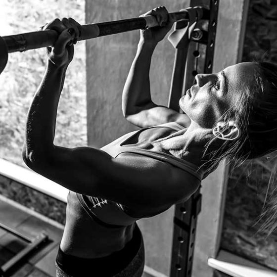 Functional exercise 3. the chin-up