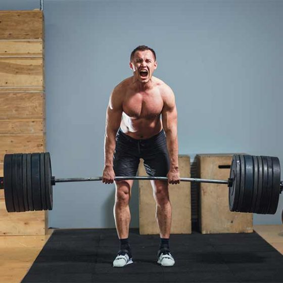 Functional exercise 1. the deadlift