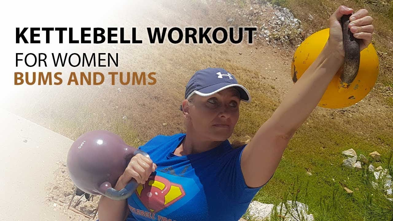 graphic about Printable Kettlebell Workout named Kettlebell Exercise For Gals: Bums And Tums Cavemantraining