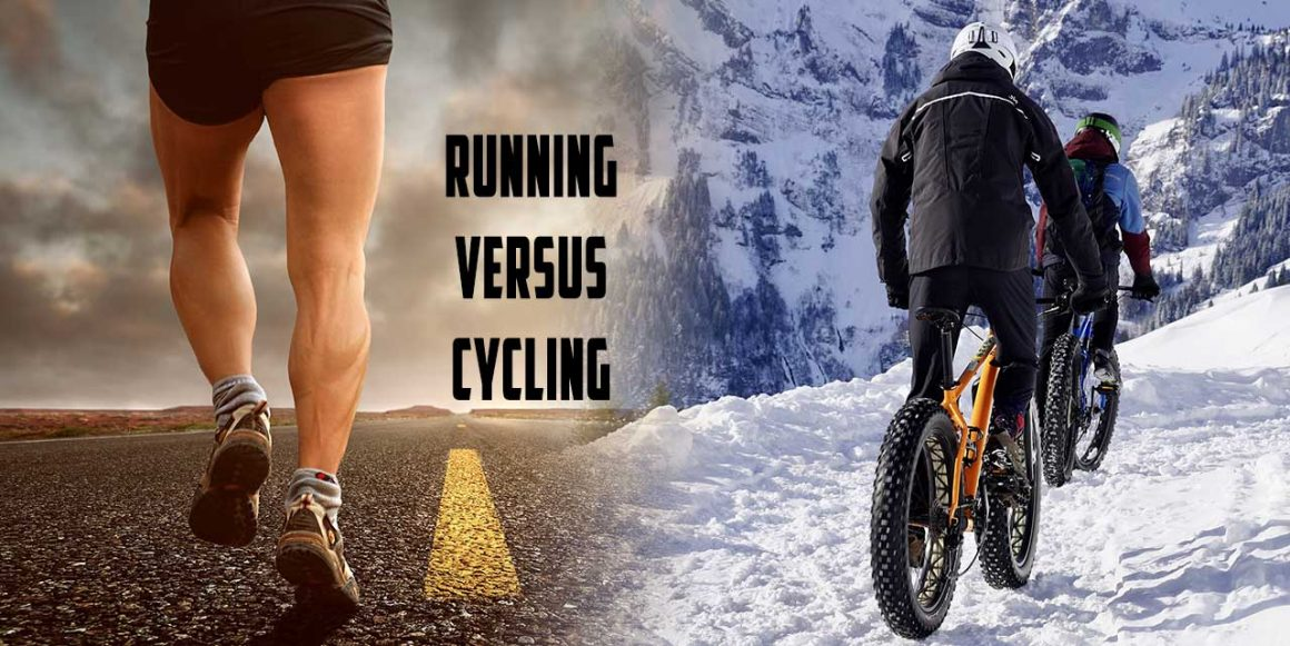 Running versus cycling