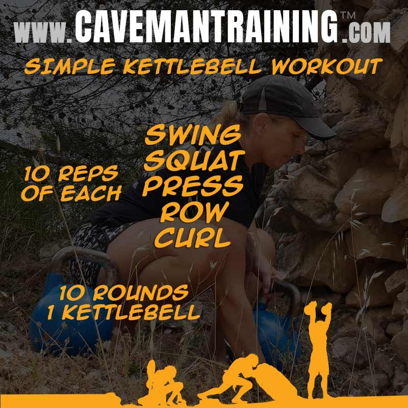 Simple kettlebell workout