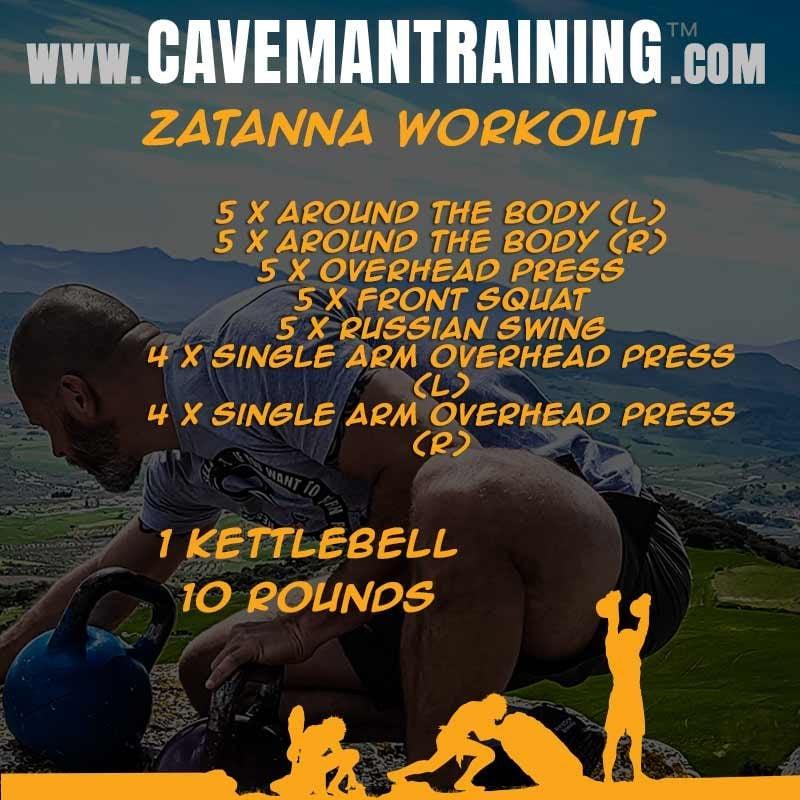 Zatanna kettlebell workout