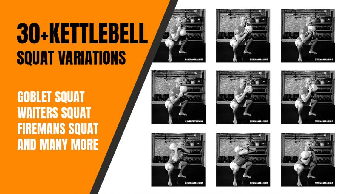 30+ kettlebell squat variations
