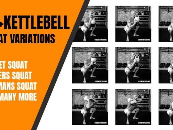 30+ kettlebell squat variations