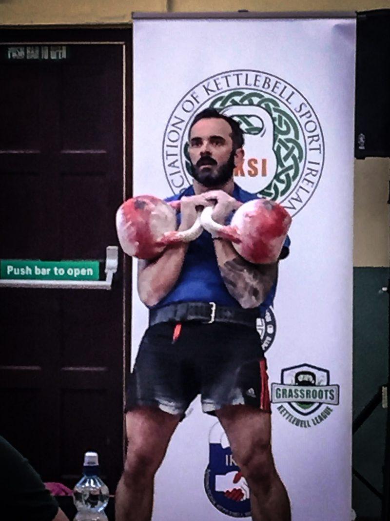 David Keohan Kettlebell Sport