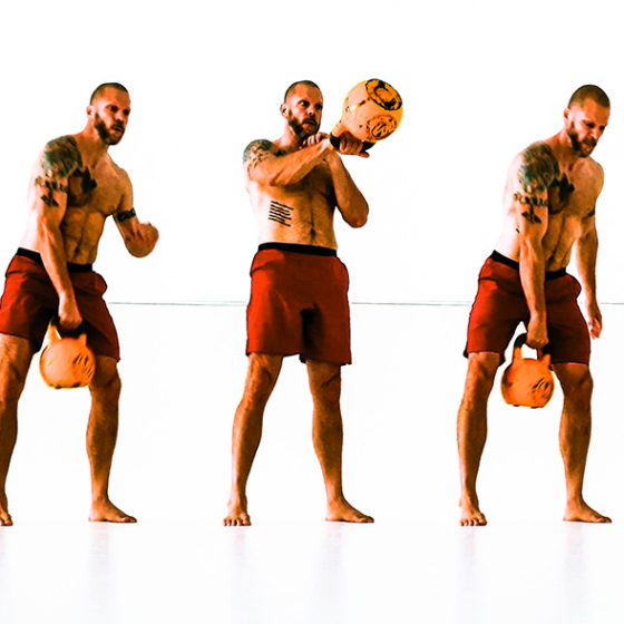 The kettlebell swing for snatching