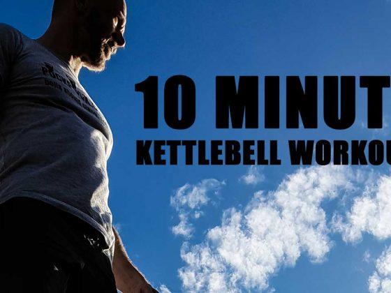 10 minute kettlebell workout