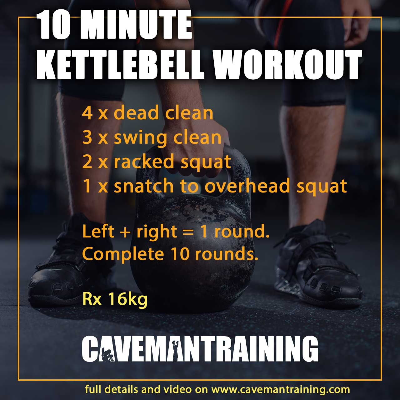 10 minute kettlebell workouts