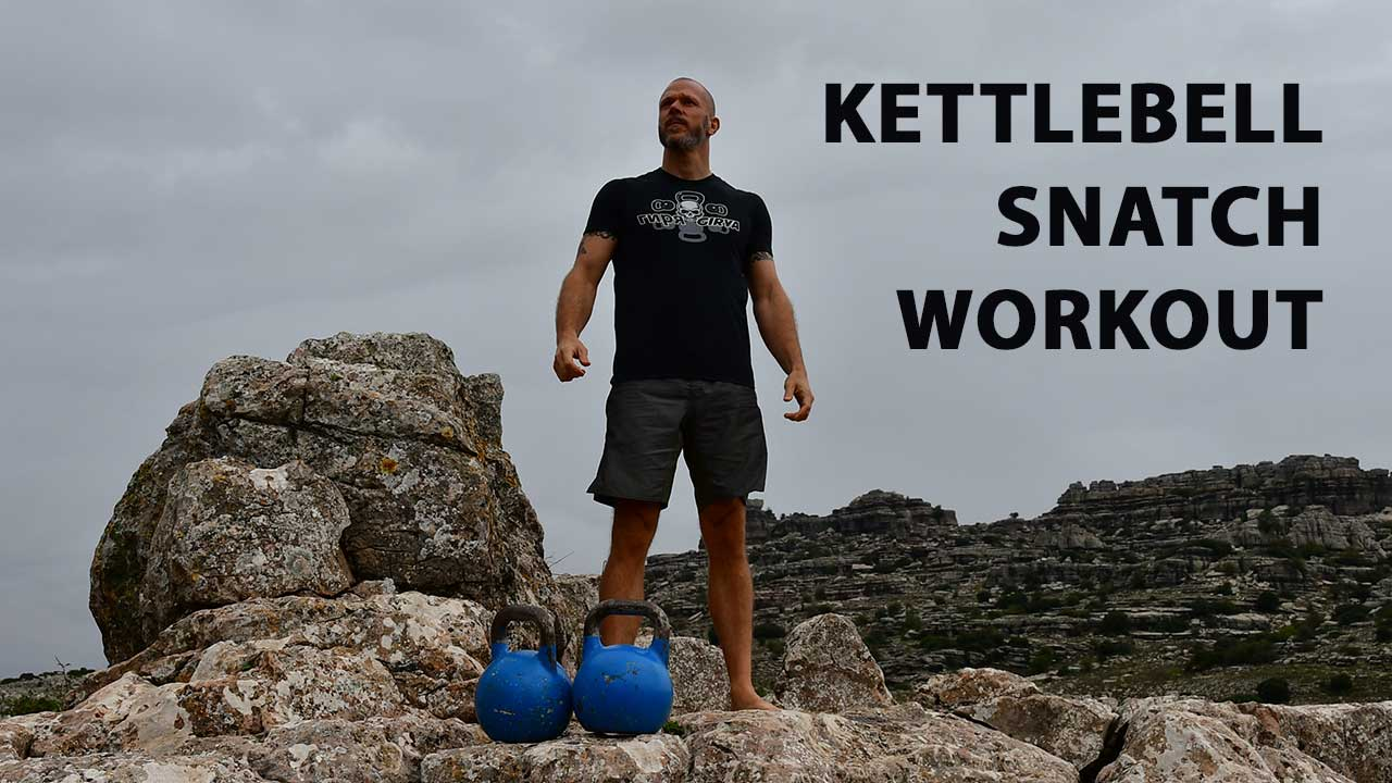 Kettlebell snatch workout