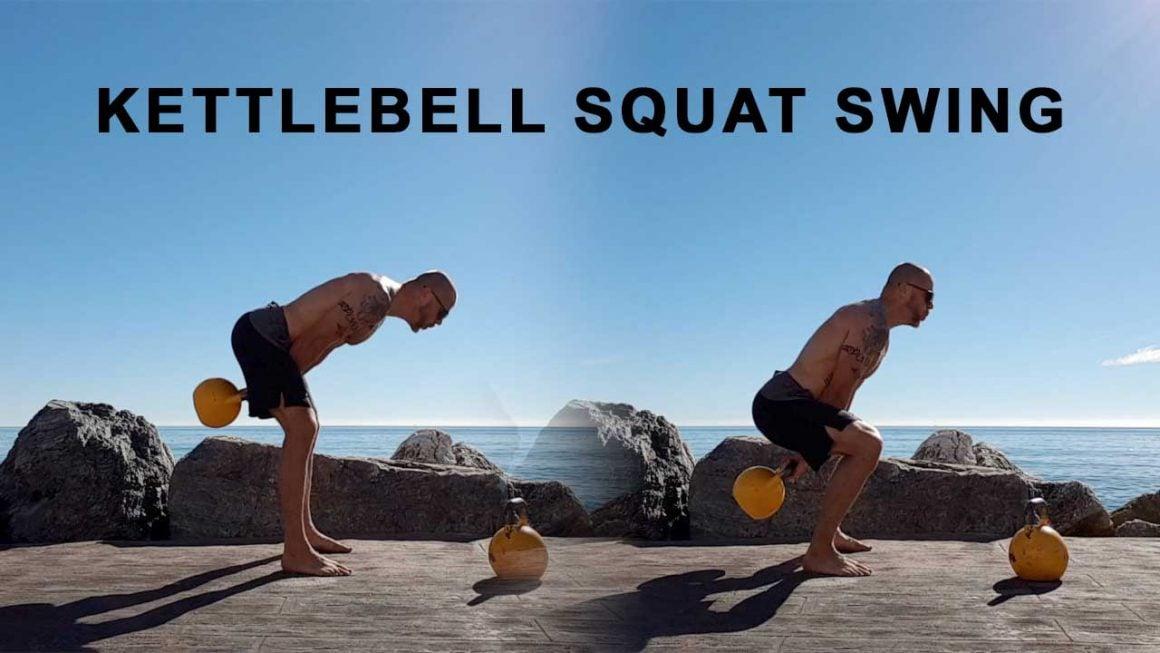 Kettlebell squat swing