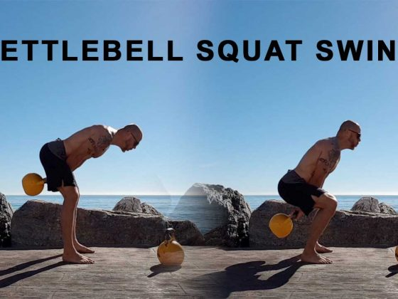 Kettlebell squat swing