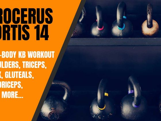 Full-body kettlebell strength workout
