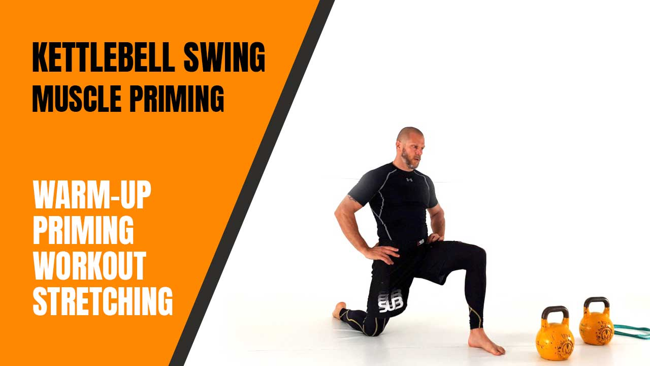 Kettlebell swing muscle priming