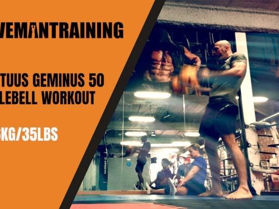 Mortuus Geminus 50 Kettlebell interval Workout