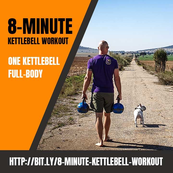 Simple 8 Minute Kettlebell Workout Full Length