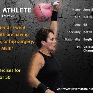 Kettlebell Exercises for over 40 or 50