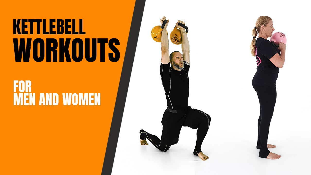kettlebell workouts for men and women