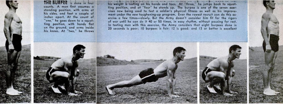 Who invented the burpee