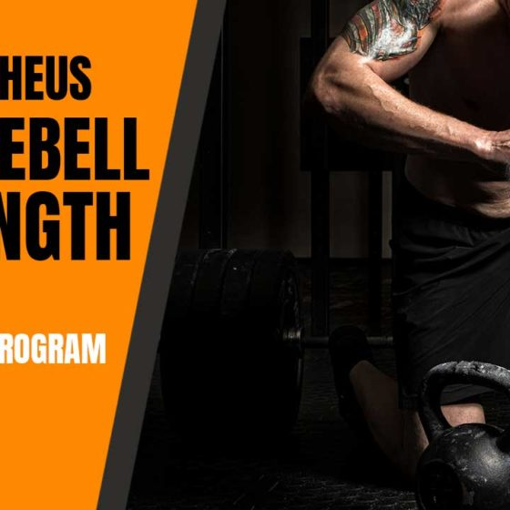 Kettlebell strength program