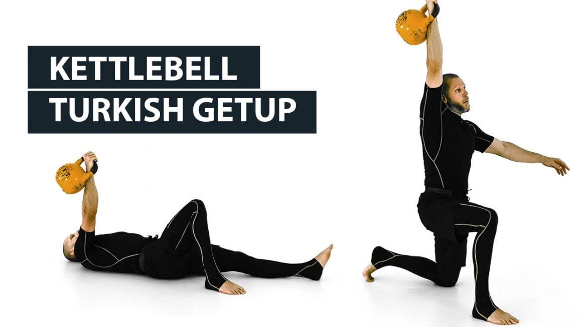 Kettlebell Turkish getup