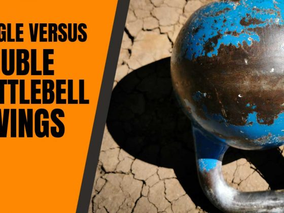 Single versus double kettlebell swings