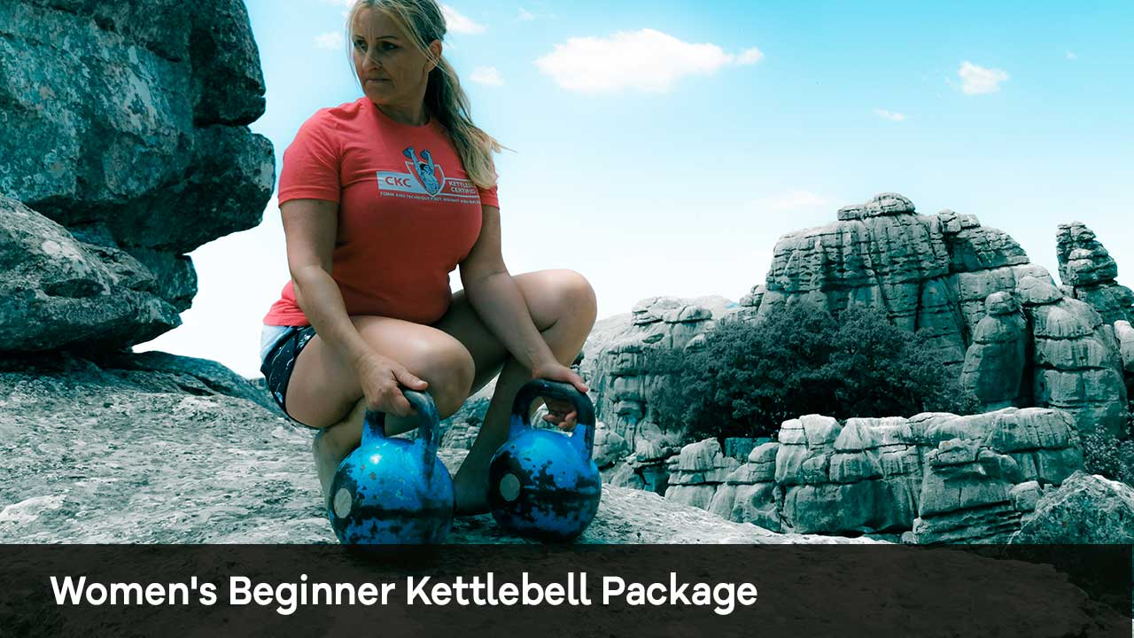 Women's Beginner Kettlebell Package