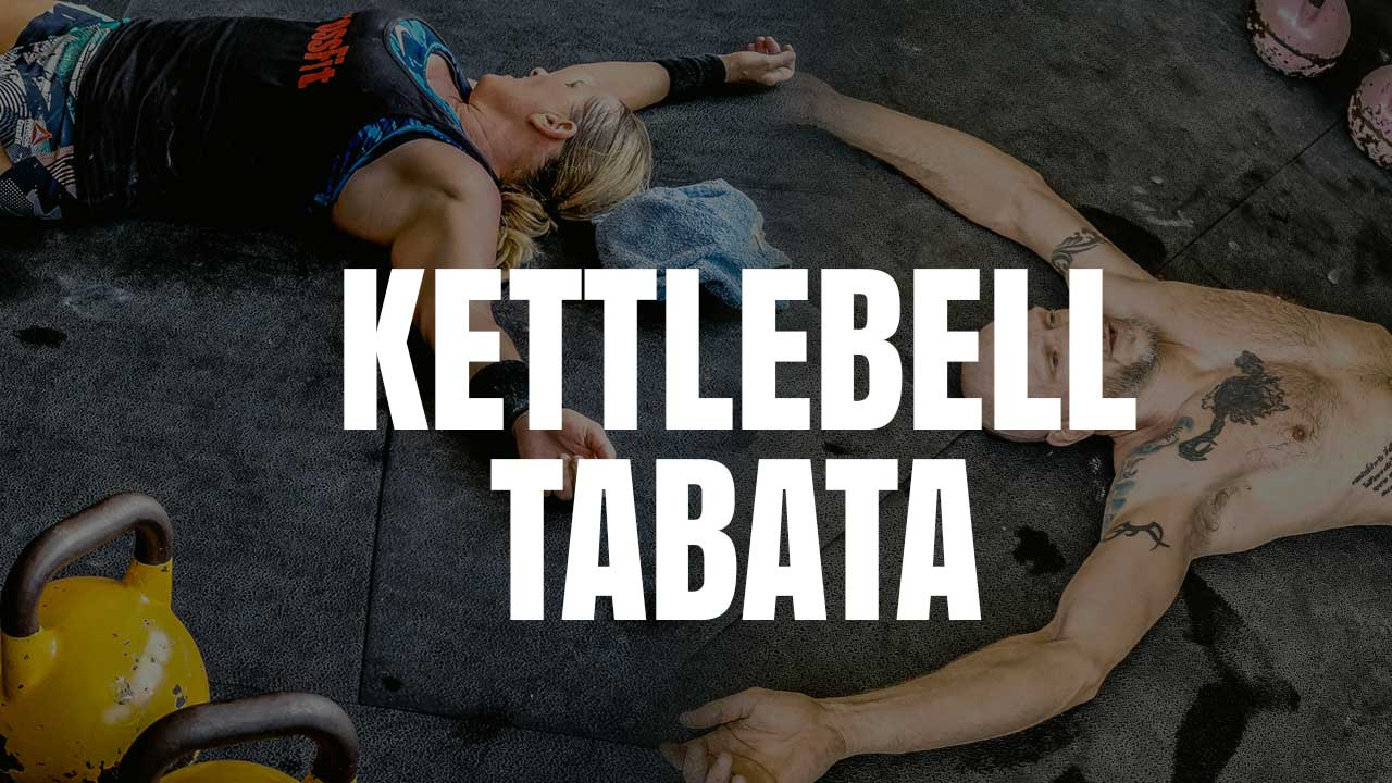 4 Awesome 4-Minute Kettlebell Tabatas
