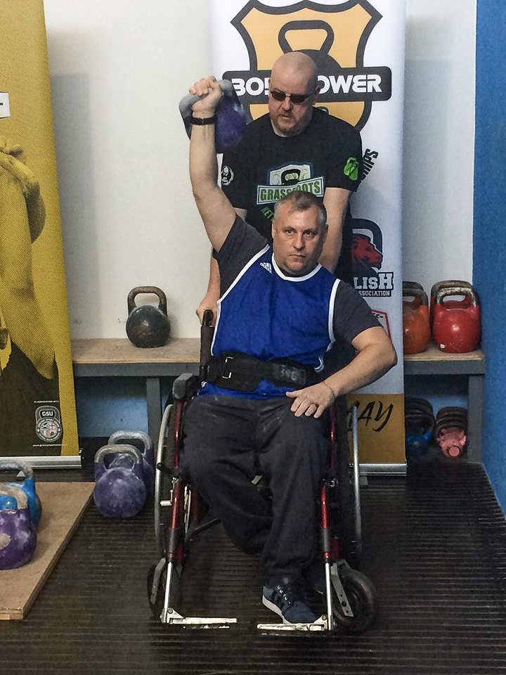 Kettlebells for disabled