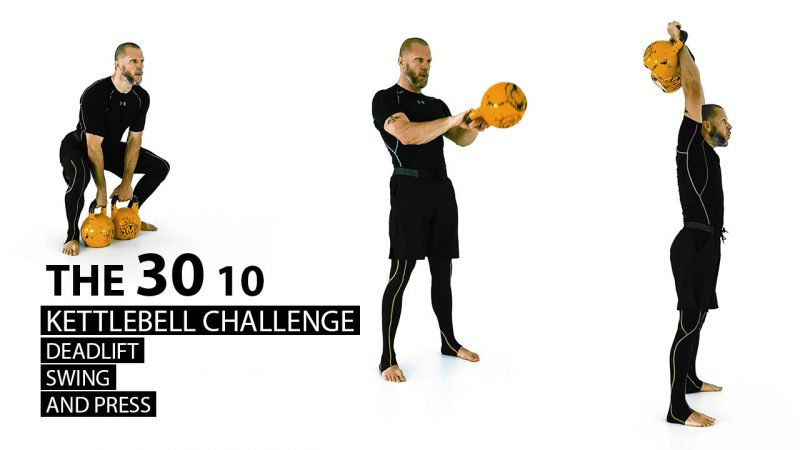The 30 10 Kettlebell Challenge