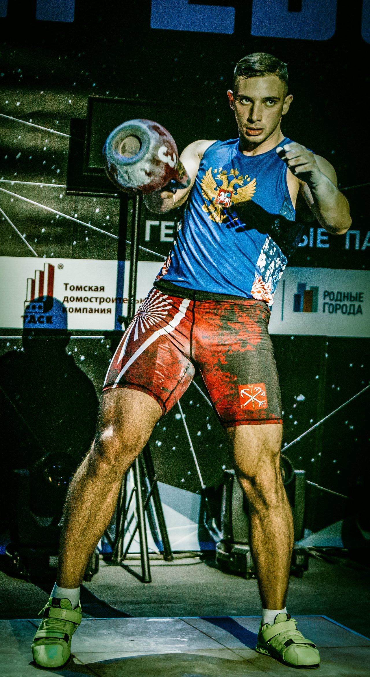 Markov Ivan Kettlebell Lifting