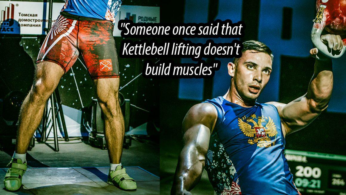 Do kettlebells build muscle?