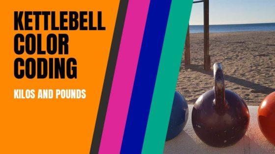 Kettlebell color coding