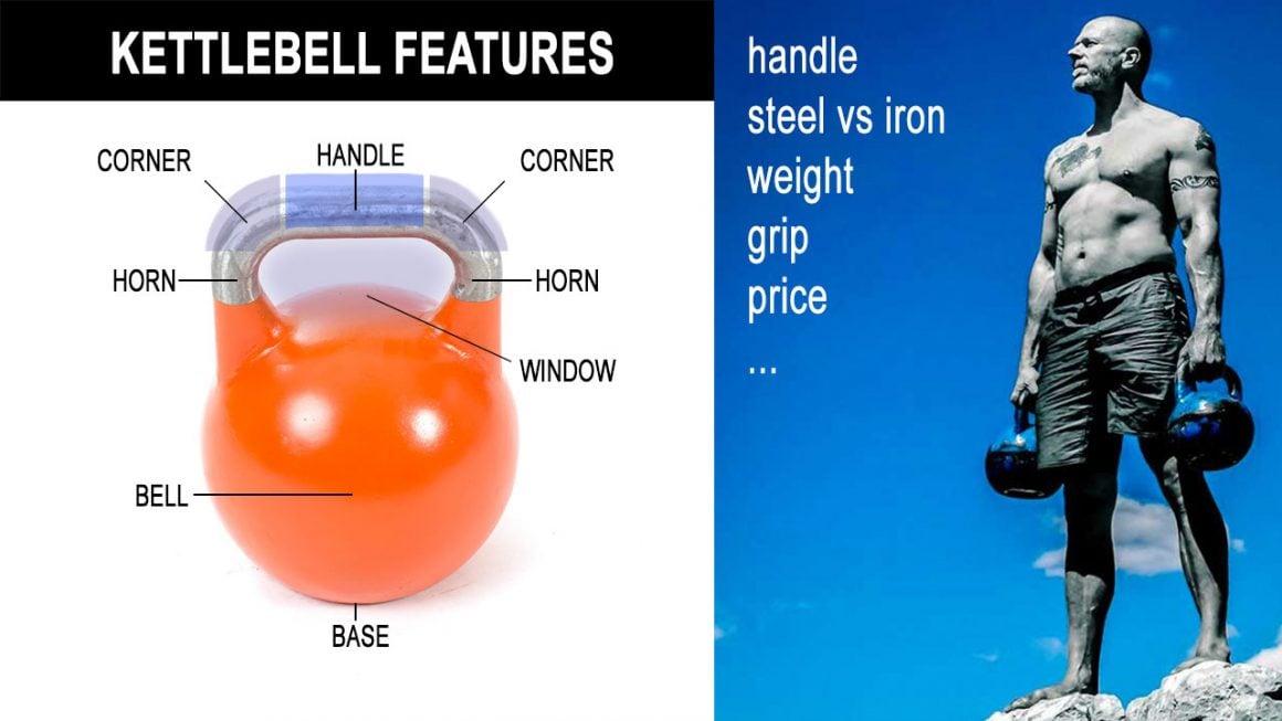 Kettlebell features