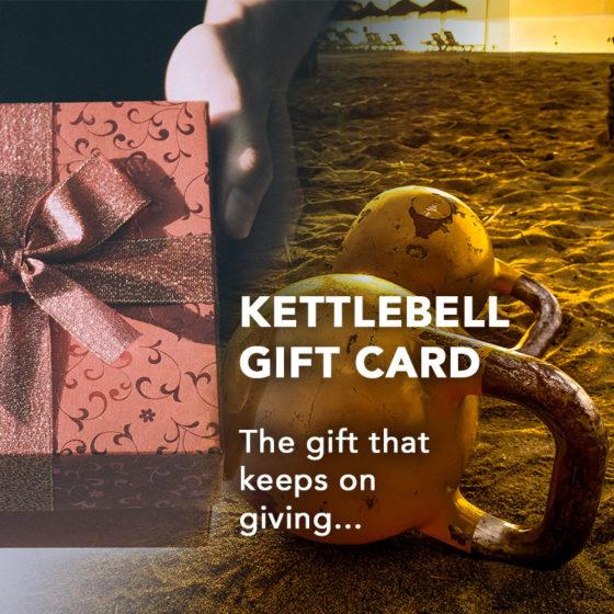 Kettlebell Gift Card