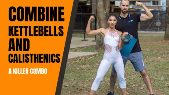 Kettlebells and calisthenics