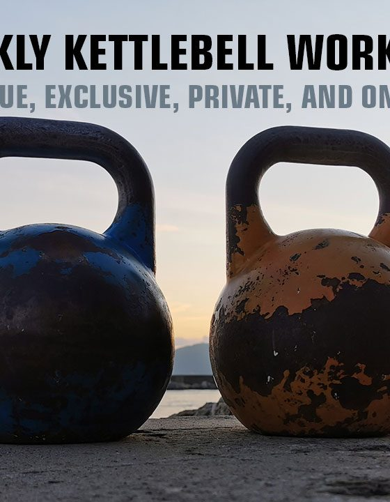 Weekly kettlebell workouts